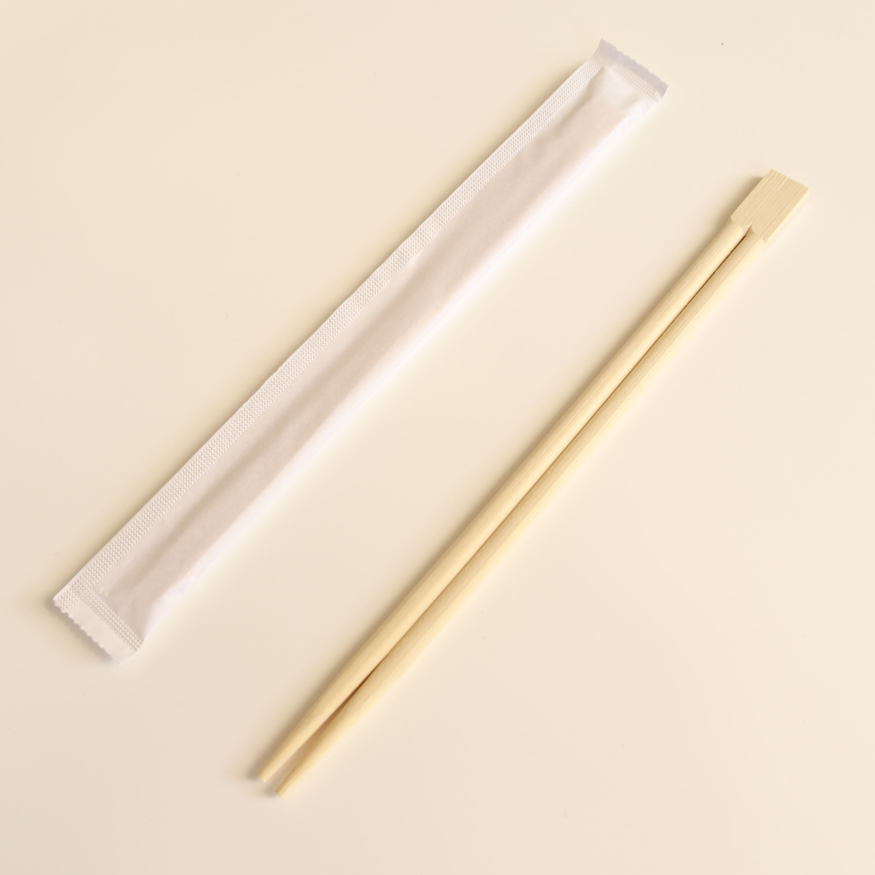 Disposable Bamboo Twins Chopsticks Biodegradable Restaurant Chopsticks