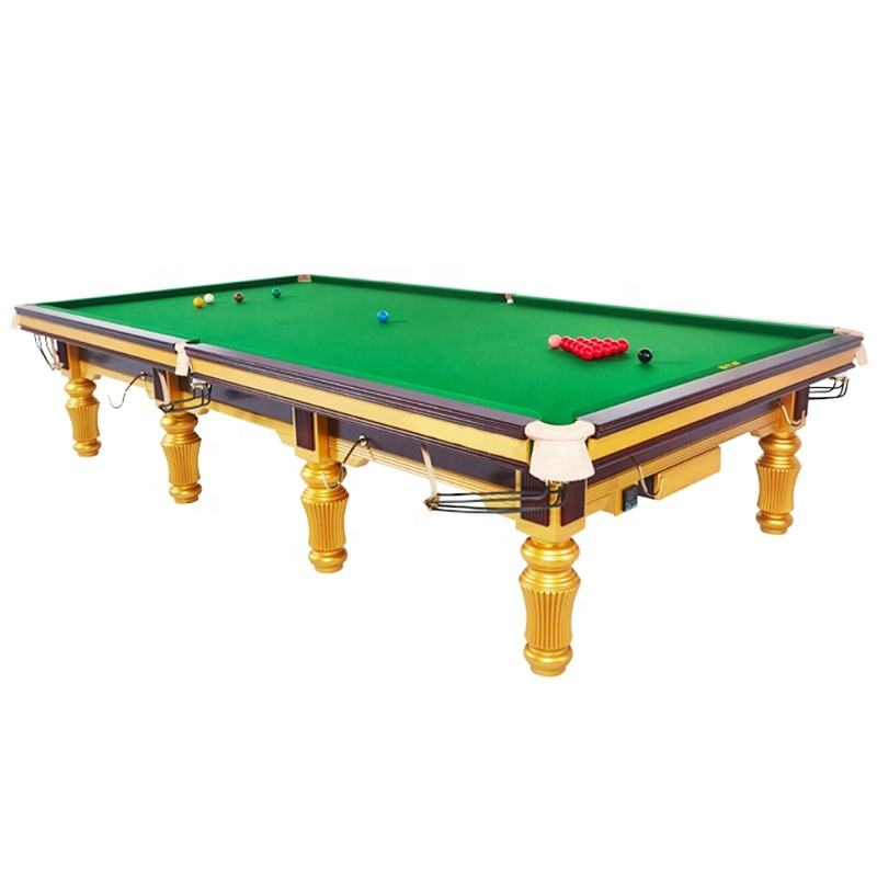 FREE SHIPPING best selling full size steel cushion 12ft snooker table
