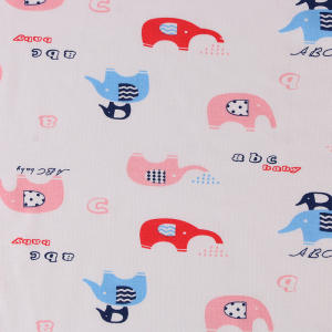 Popular cotton textile colorful printing digital print fabric textile popular flower for bed making cloth material