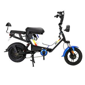 New products hot sale 2 wheel 2 seat mini electric bike / cheap electric bicycle / electric moped