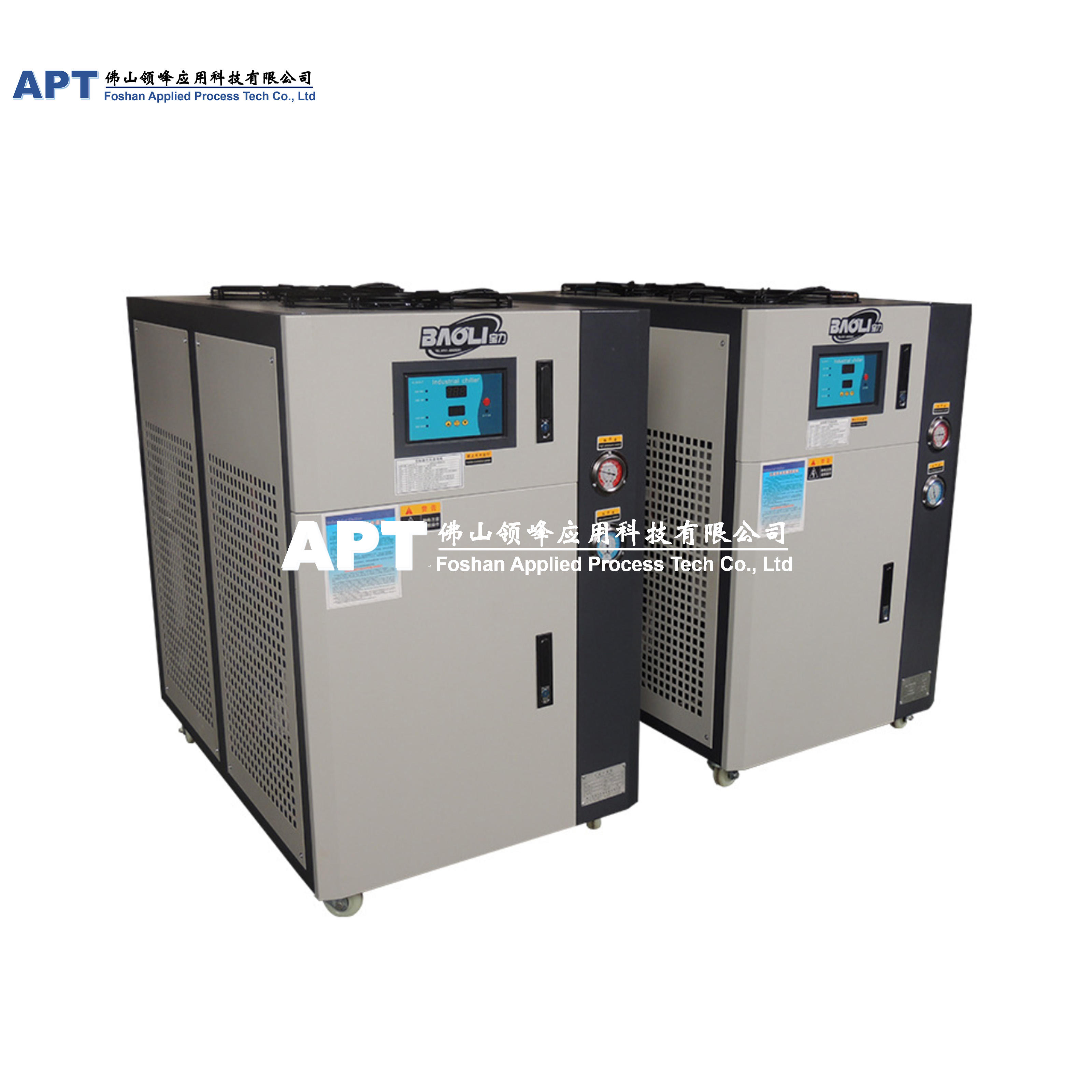 15KW Industrial Cool System Air-cooled Water Chiller for juice production line with food grade quality