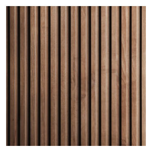 Wave Design Wood Plank Texture High Quality Solid Wood Wall Panel Maple Timber Pine Lumber Wood Plank Board