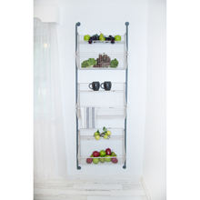 3-tier metal Wire storage Basket  Wall Shelf wall mounted kitchen vegetables or fruit storage rack