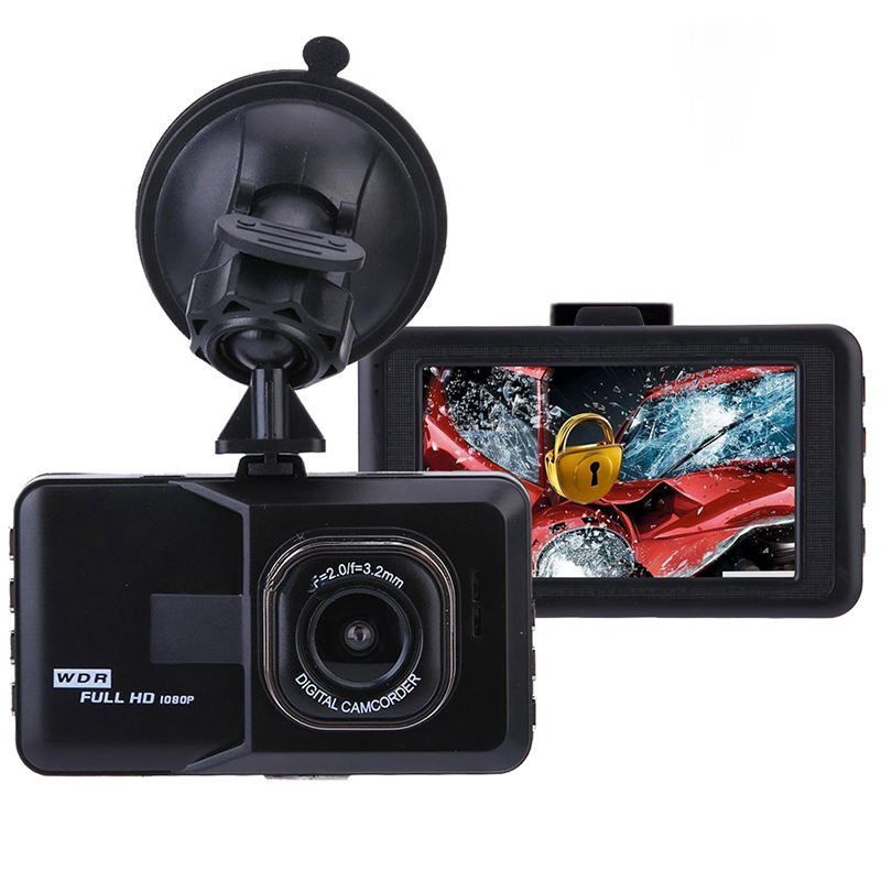 Top verkauf AUTO DVR 1080P Dash Cam Recorder 3,0 Zoll Screen Display Black Box Dash <span class=keywords><strong>Kamera</strong></span>