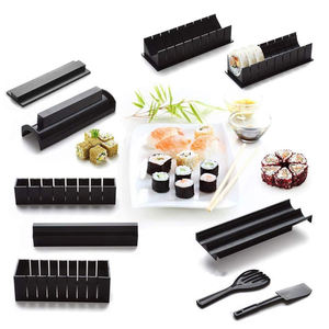 10 pcs/set sushi kit for home use Sushi Making Kit japanese sushi maker tools