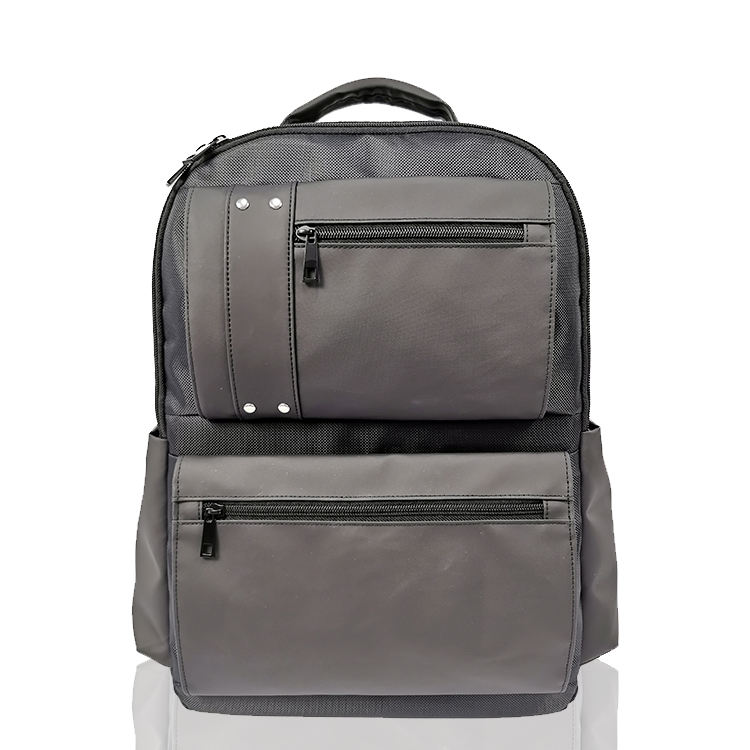 Sunsome Durable Briefcase Notebook Mochila Bags Business All black Laptop Backpack For chromebook