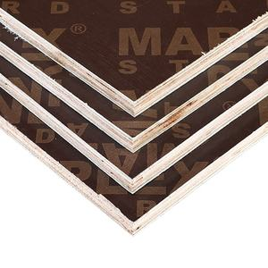 18mm Brown Film Faced Hardwood Plywood For Building Construction