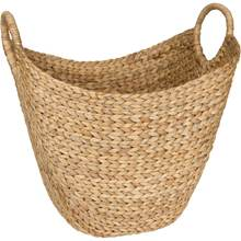 Hyacinth baskets for clothes are lined with fabric, can hold many things, eco friendly to the production environment in Vietnam
