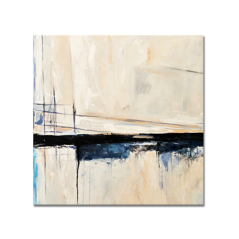 Beautiful wall art simple modern custom handmade artwork abstract oil painting on canvas