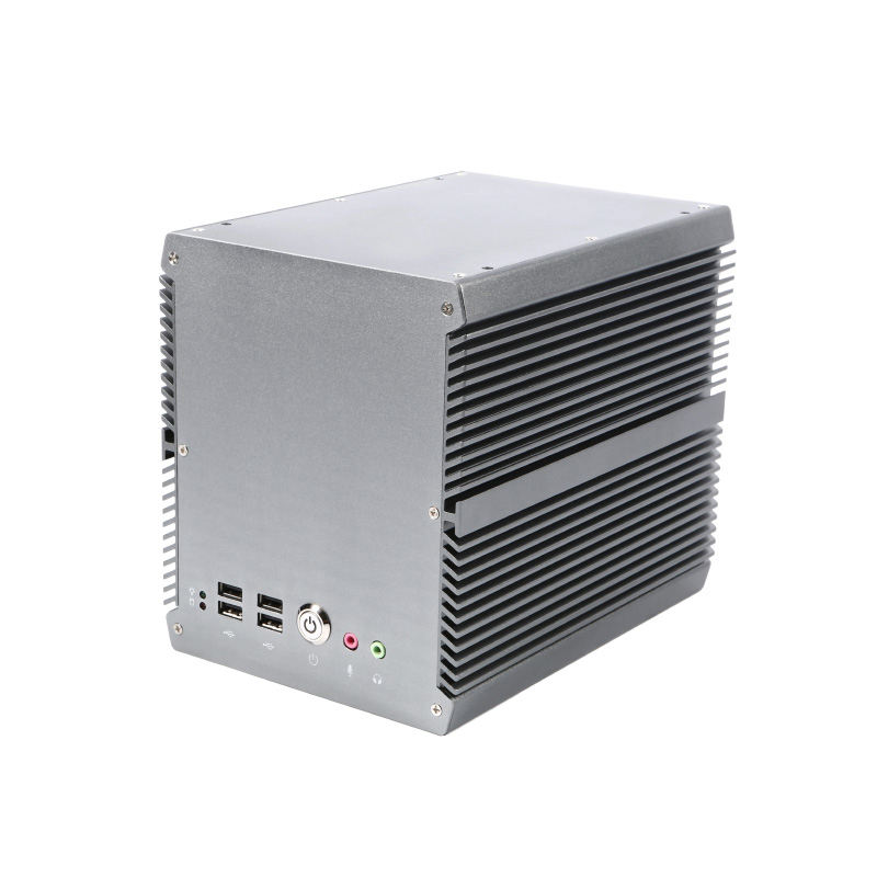 X86 6th i5 dual core industriële box pc met 3 pci en 1 pcie slot