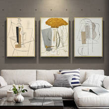 Hotel Restaurant European Style Picasso Wall Art Oil Painting Modern Home Decor Abstract Painting On Canvas