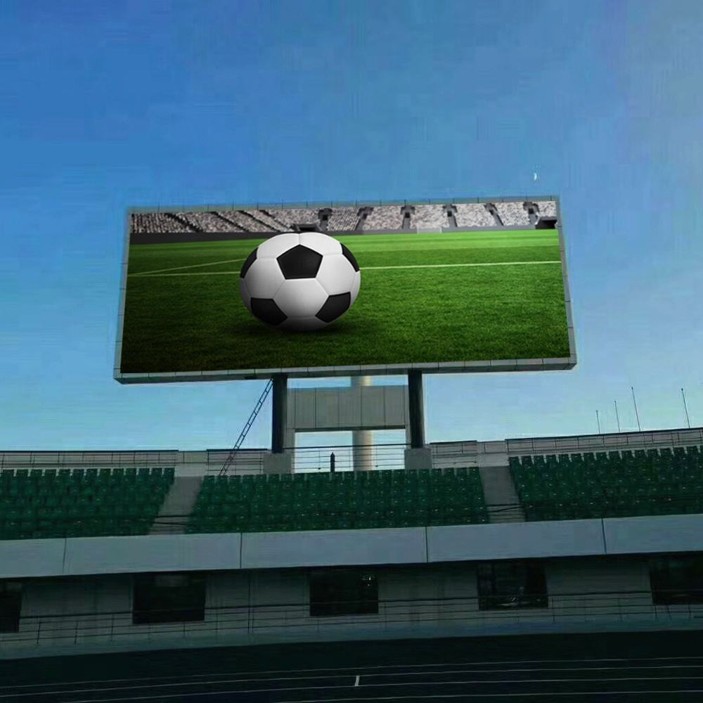 High way advertising DIP P10 outdoor led billboard price p10 rgb led display