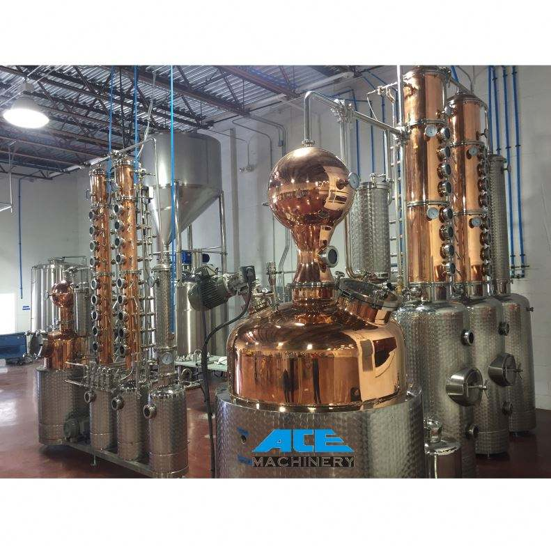 ACE Brandy Distilled Automatic Beer Distiller Distillation Column