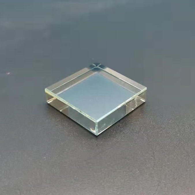 1*4*4cm high quality clear glass base