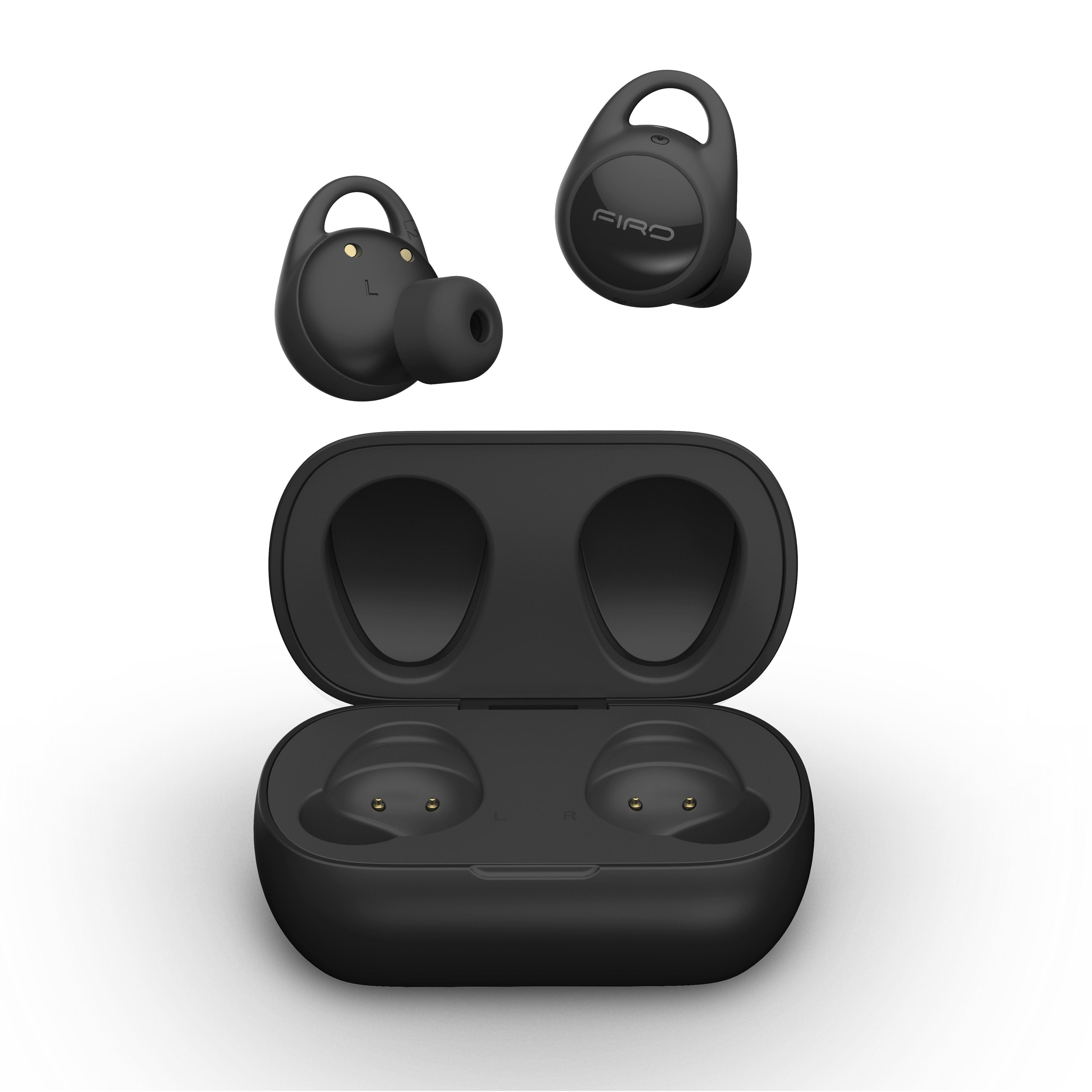 진정한 무선 TWS 이어폰 소음 감소 프리미엄 RF 블루투스 이어폰 및 헤드폰