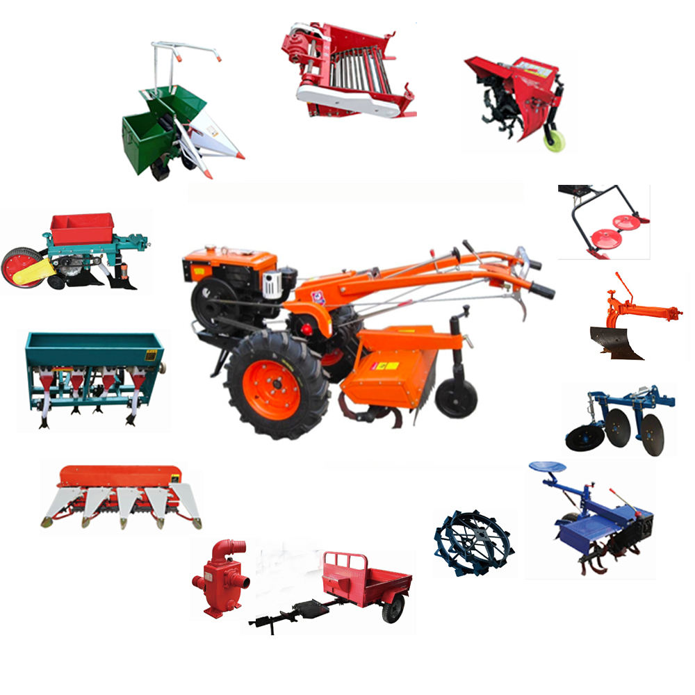 12-20Hp 12.1 KW Power Walking Tractor From China, Hand Tractor Price in India