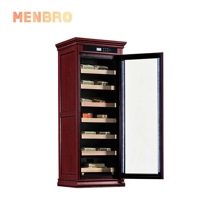 Electronic Humidor Cabinet Cigar Cooler Tobacco Products Fridge 1250 CT Cigars Best Selling Smoke Shop Lounge