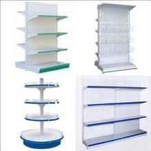 2020 Hot Selling Design Supermarket Gondola Metal Display Rack Supermarket Shelf Equipment with Shop Design
