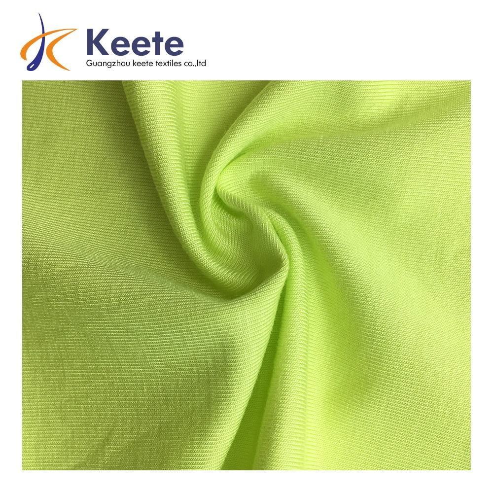 190-200gsm high quality organic bamboo fiber fabric very smooth 95%bamboo 5%spandex