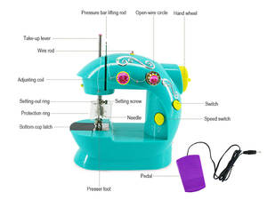 China Factory Household Handy Mini Zigzag Electric Sewing Machine Price