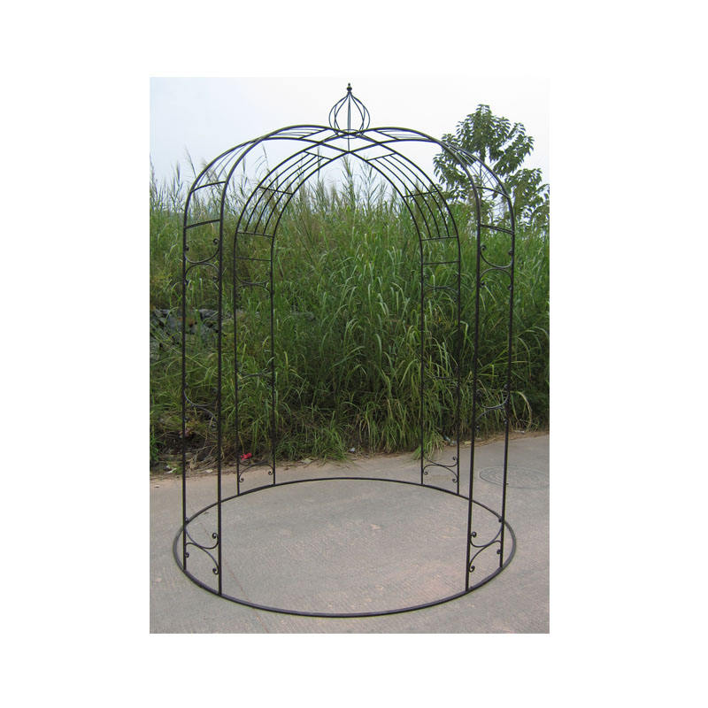 Outdoor garden decorative metal wrought iron gazebo for sale