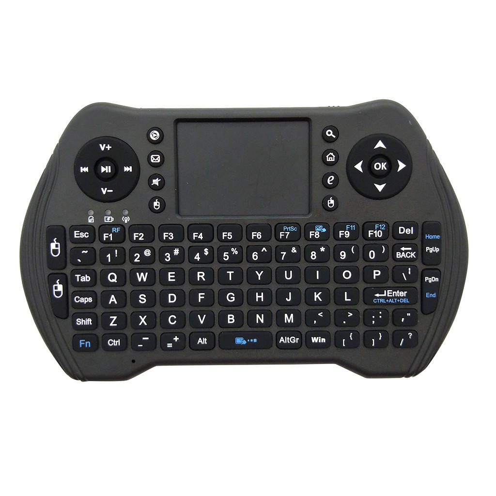 Shizhou Tech NEW Mini Touchpad Keyboard Backlit MT10 Fly Mouse Wireless Tv Remote Control for Smart TV Box KM9