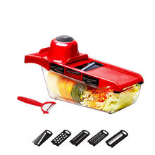 High quality Mandolin slicer Kitchen potato slicer manual stainless steel vegetable and fruit slicing