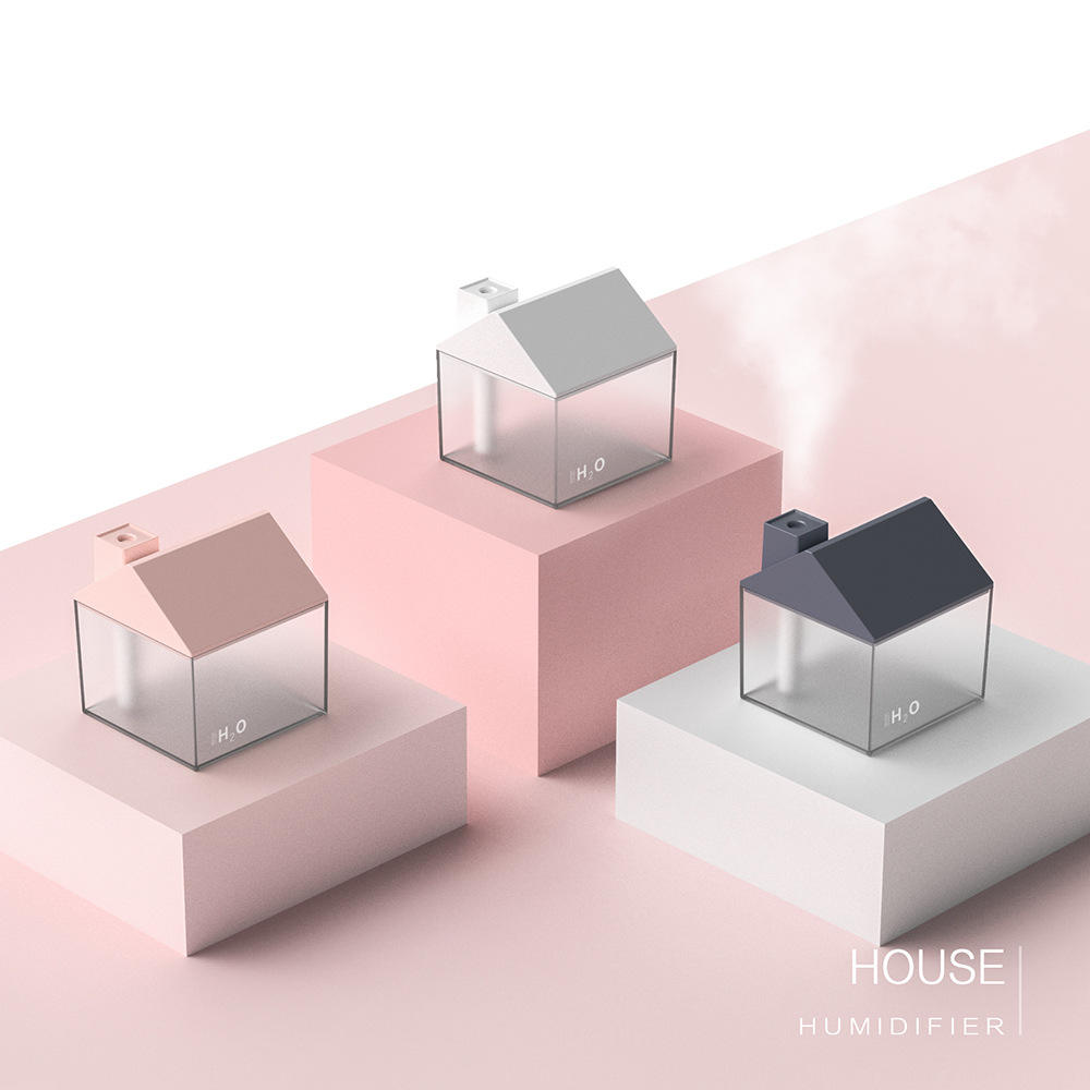 Appareils de Conditionnement d'air, humidificateur de 2019 Mignon mini conception bouton tactile cerf mini humidificateur