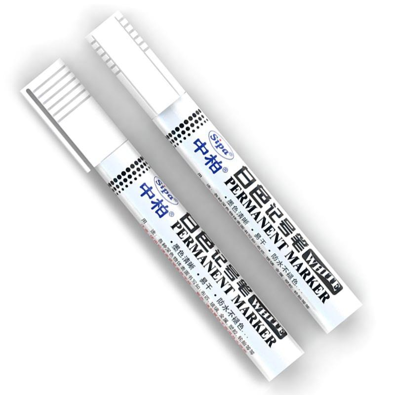 Eco-friendly <span class=keywords><strong>di</strong></span> <span class=keywords><strong>colore</strong></span> bianco Penne Vernice permanente textile marker