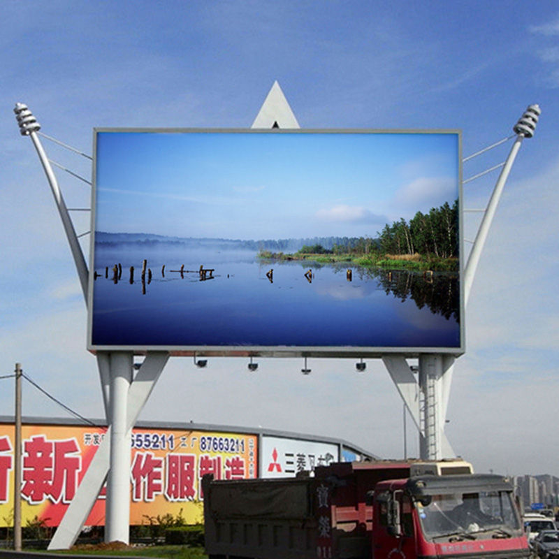 MPLED P10 P8 Full Color Advertising Billboard Panel ecran led geant SMD Outdoor Flexible LED Display Screen