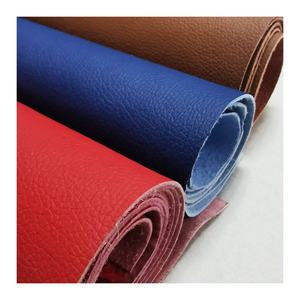 Wear-resistant and breathable suede sofa pu microfiber synthetic leather for shoe furniture and car seat materials