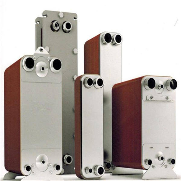 Stainless Steel Phe Copper Brazed Plate Heat Exchanger Beer To Water Heat Exchanger