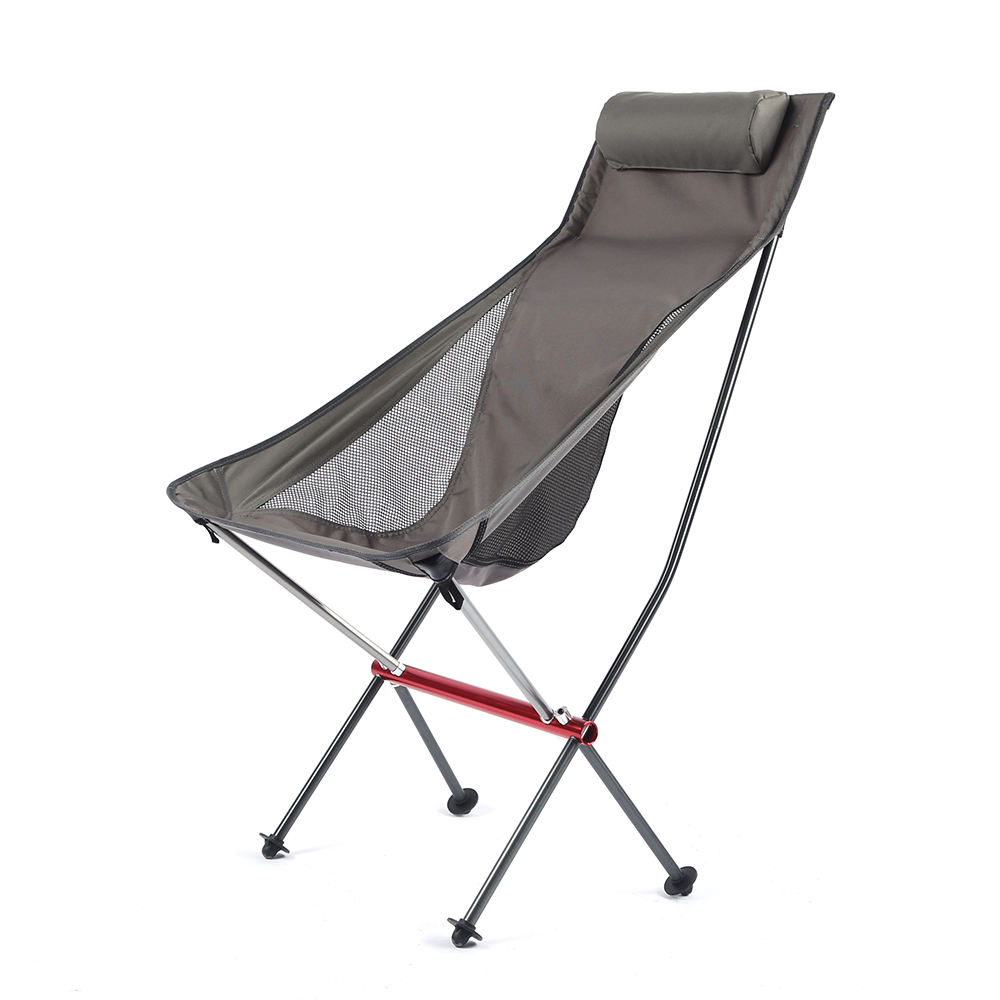 Lightweight folding portable picnic outdoor chair foldable metal camping chair for fishing beach