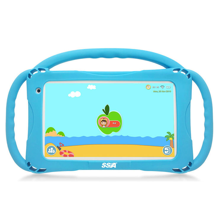 High Quality Tablet Pc SSA Educational Learning Kids Tablet 7inch Android 9.0 Gaming Tablet Blue