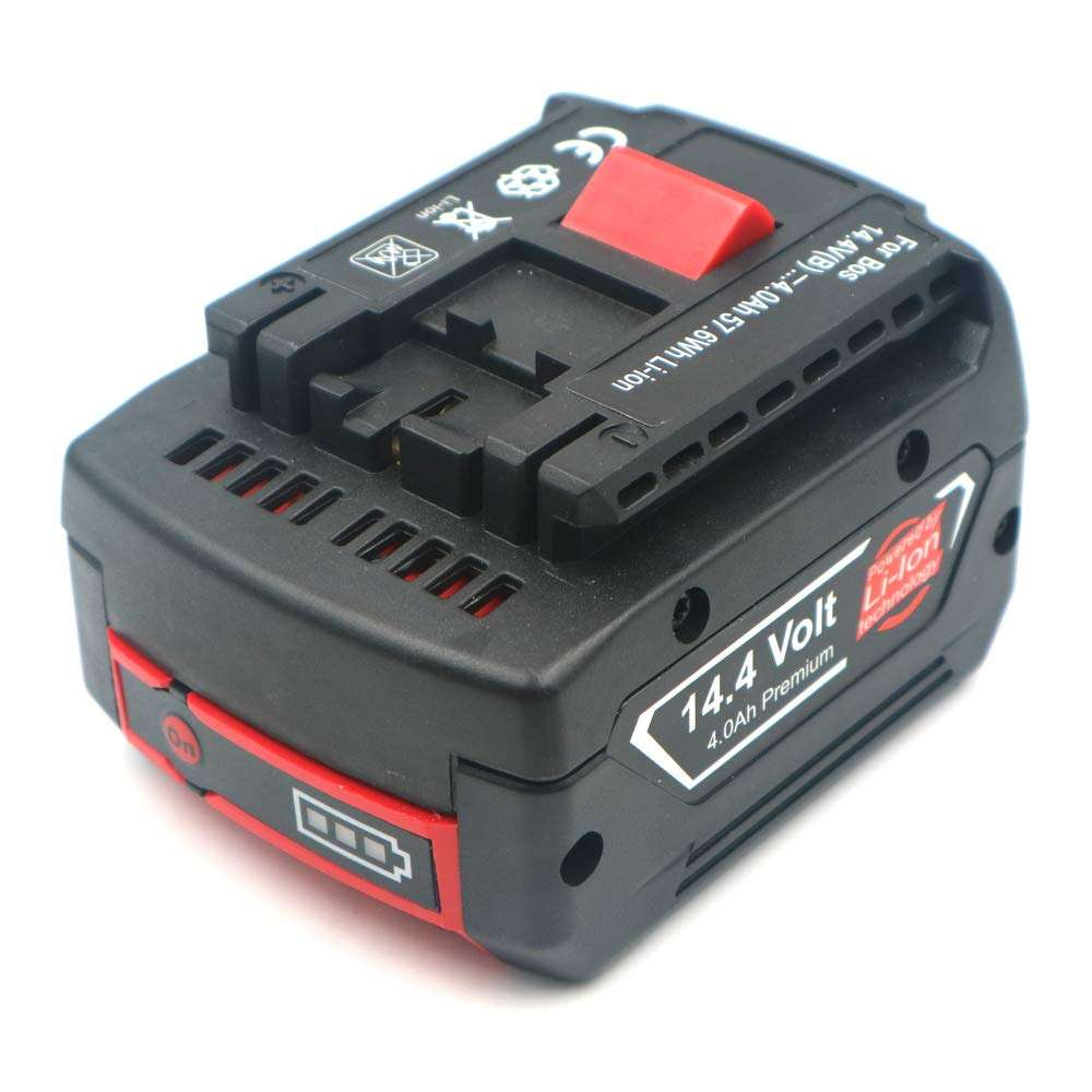 14.4V 6000mah Rechargeable Li-ion Battery cell pack for BOSCHs cordless Electric drill screwdriver BAT607,BAT607G,BAT614,BAT614G