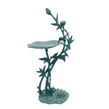 New cast iron antique flower bird bath for outdoor garden decoration
