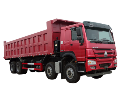 Good condition heavy duty dump 40 tons 8X4 New HOWO tipper Truck low price