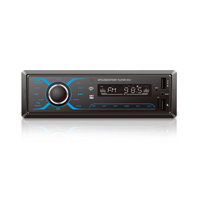 Radio Car CD Player Auto 1Din Bluetooth Autoradio Audio USB CD MP3 (NO DVD)Support mobile APP connection multimedia playback