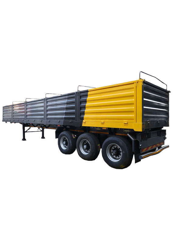 High Quality Stainless Steel 3 Axle Cargo Trailer Skeleton Semi Trailer Sale In Africa