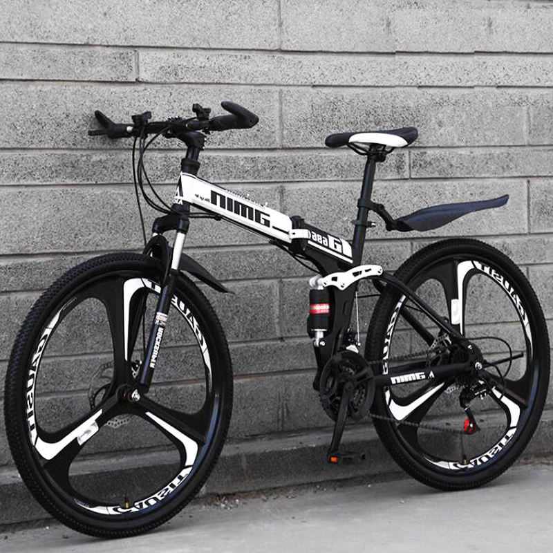 China disc suspension 26/27.5/29 inch foldable mtb, carbon steel frame off-road hill bike mountain bicycle bicicleta