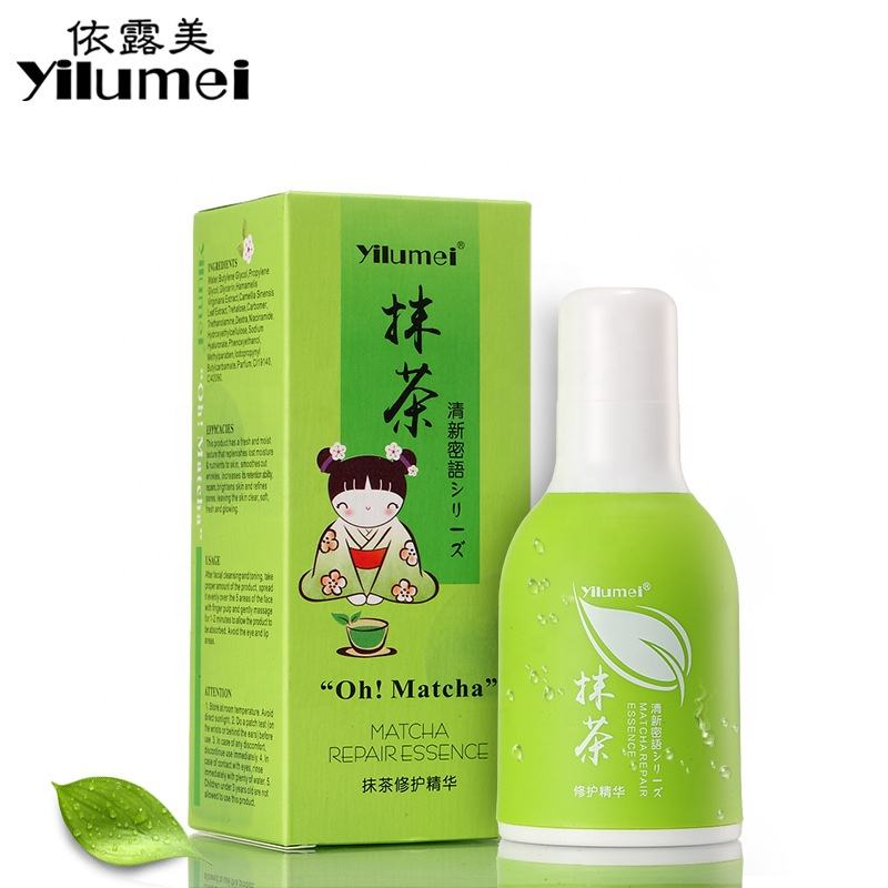 Intensive Hydrating Serum with Green Tea,Green Tea Matcah Revitalizing Serum