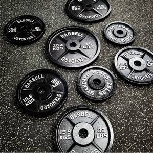2020 China hot sale gym barbell weight plate lb/kg for gym equipment