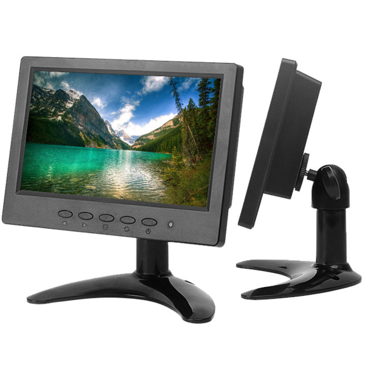 Car Computer Touch Screen Pc Roof Mount Tv Open Frame High Brightness 7 Inch Small Vga Lcd Monitor