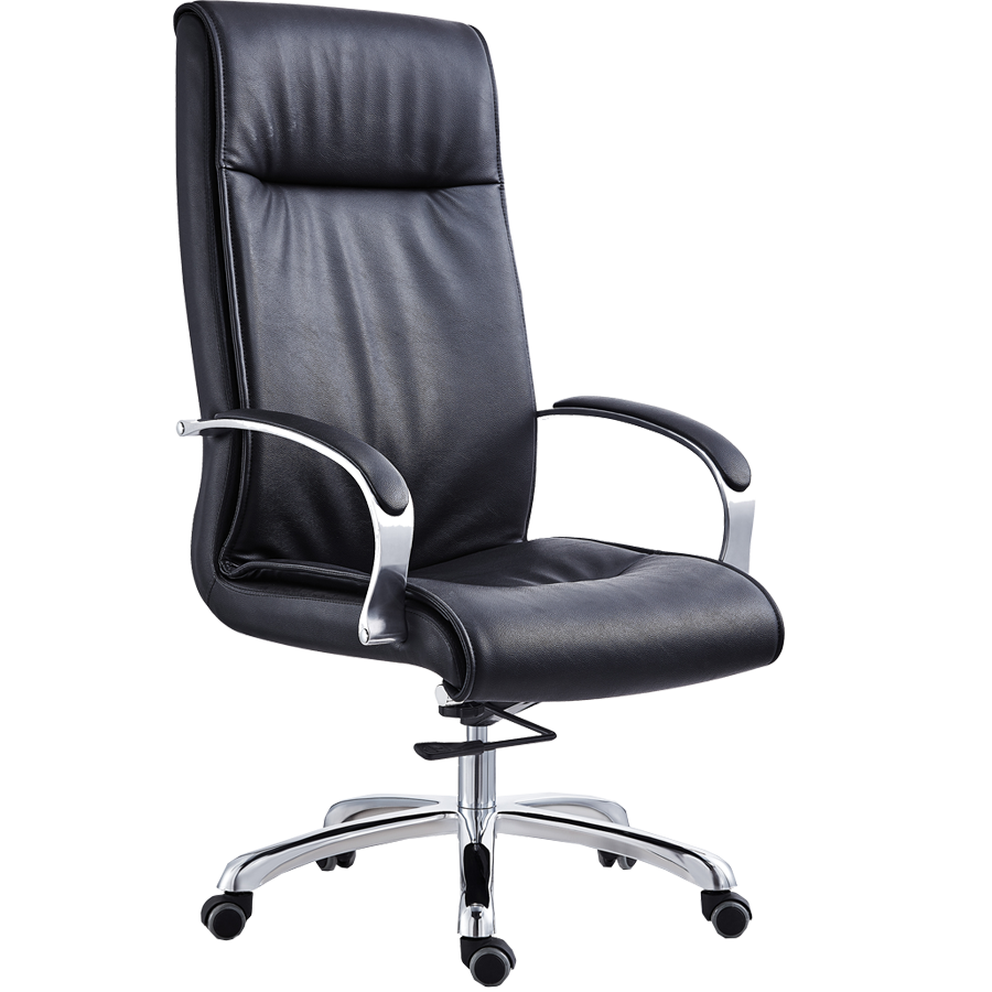 SL-1827A Mould Foam Seating Modern Executive Office Furniture PU Chair Manufacture Direct Sales
