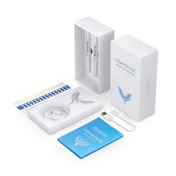 Home Use Fast Whitening Result Smart 16 Led Cold Blue Light Teeth Whitening Home Kit Private Label