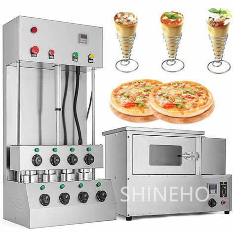 Meilleure Vente Sergas Pizza Cône Formant La Machine <span class=keywords><strong>France</strong></span> Coniques En Spirale
