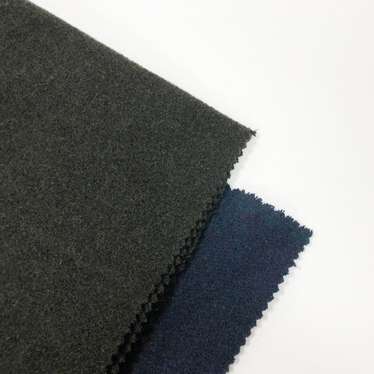 VELVET wool fabric hot sell woolen material fabric for coat
