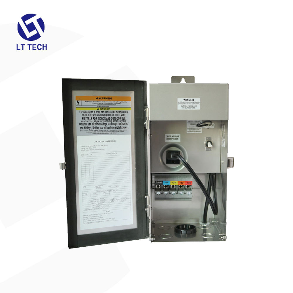 304 stainless steel LT302 low voltage 12VAC 150W 2020 Hot sale Transformer suitable for outdoor lighting system