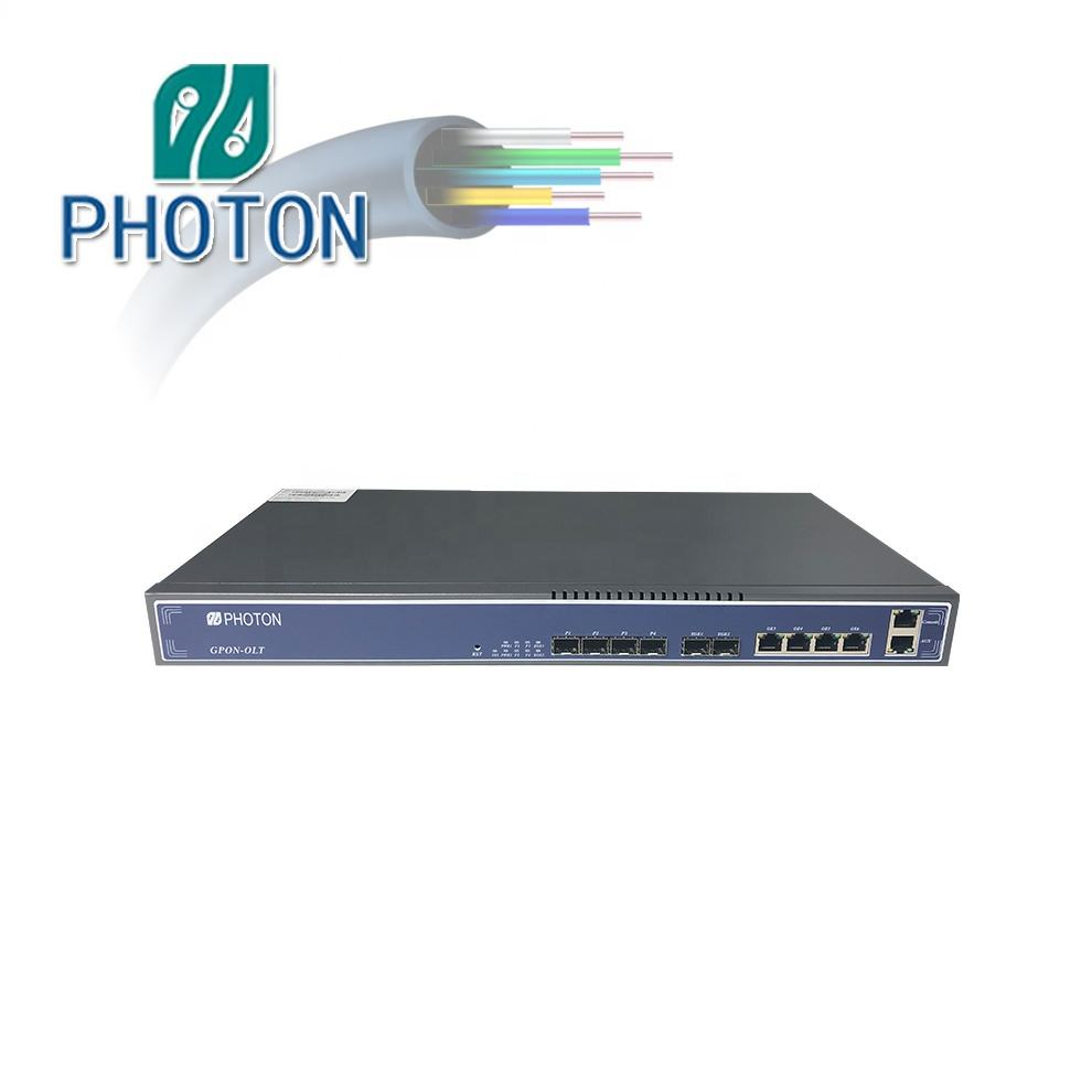 FTTH FTTX 10GE 4Pon ميناء <span class=keywords><strong>GPON</strong></span> <span class=keywords><strong>OLT</strong></span> PTF3704E