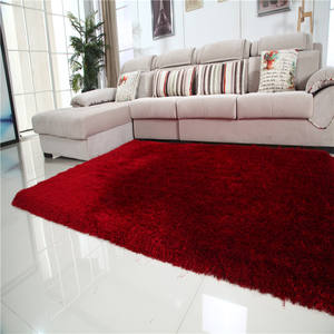 whosale high quality long pile shaggy polyester rugs and carpets online alfombra de sala tianjin factory